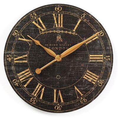 Bond Street Wall Clock by Uttermost