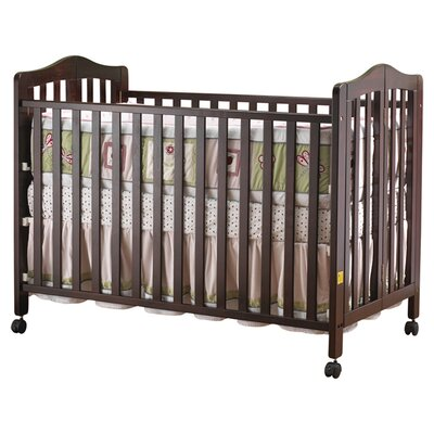Orbelle Trading Lisa Two Level Full Size Folding Convertible Crib