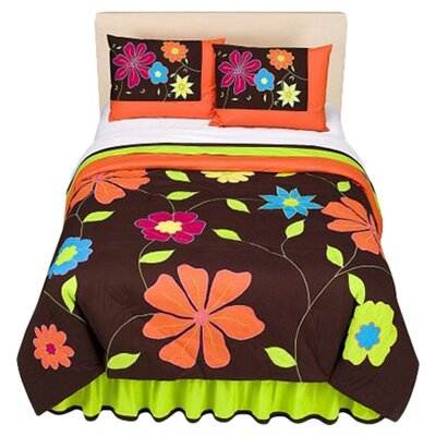 Valley of Flowers Comforter Set by Bacati