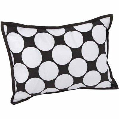 Dots/Pin Stripes Decorative Cotton Boudoir/Breakfast Pillow by Bacati