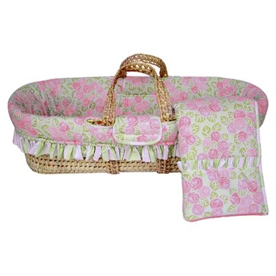 Flower Basket Moses Basket by Bacati