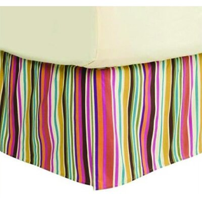 Dots and Stripes Spice Bed Skirt by Bacati