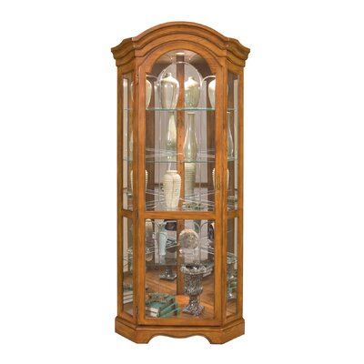 Barrington Corner Curio Cabinet by Philip Reinisch Co.