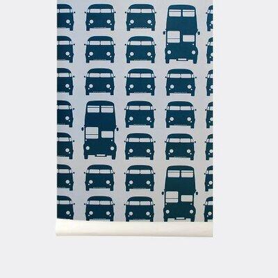 ferm LIVING Rush Hour Kids Wallpaper