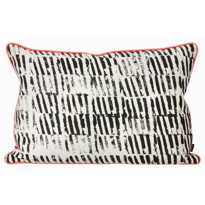 ferm LIVING Worn Stripe Organic Cotton Lumbar Pillow