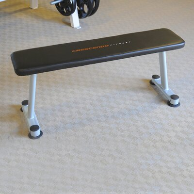 Flat Utility Bench by Crescendo Fitness