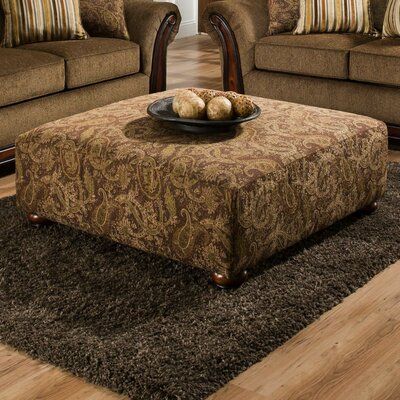 Cornell Chestnut Ottoman by American Furniture