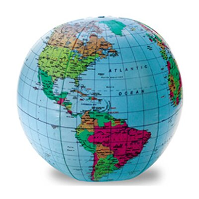 12 Inflatable Globe by Learning Resources