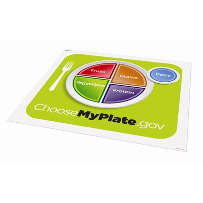 Learning Resources Healthy Helpings MyPlate Activity Mat