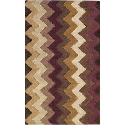 B. Smith Rugs Mosaic Chocolate/Plum Rug