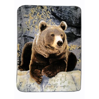 Relaxing Bear Throw Blanket by Shavel