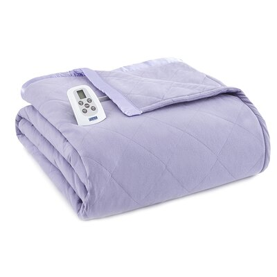 Electric Heated Comforter Blanket by Shavel