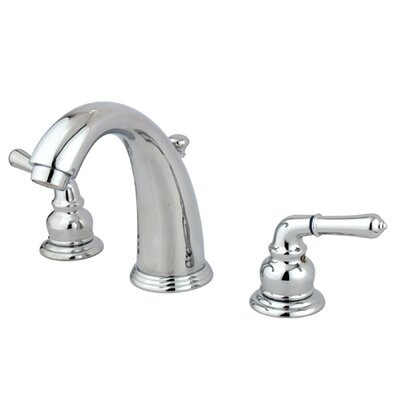 Elements of Design Widespread Bathroom Faucet with Double Modern Lever Handles