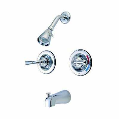 St. Charles Pressure Balanced Volume Control Tub and Shower Faucet Product Photo