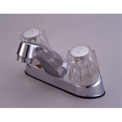 Elements of Design Centerset Bathroom Faucet with Double Knob Handles