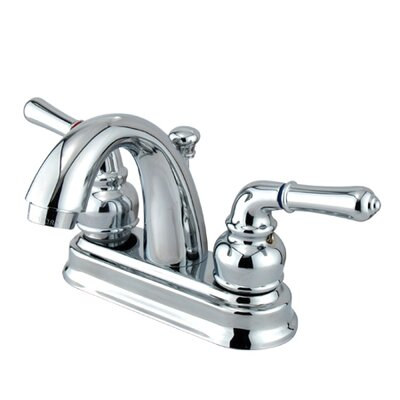 St. Charles Centerset Bathroom Sink Faucet with Double Lever Handles by Elements of Design