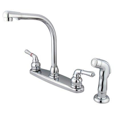 Magellan Double Handle Centerset Kitchen Faucet by Elements of Design