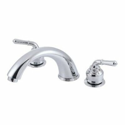 Magellan Roman Tub Faucet with Modern Lever Handles Product Photo