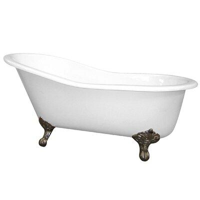 "Elements of Design 61"" x 30"" Soaking Bathtub"