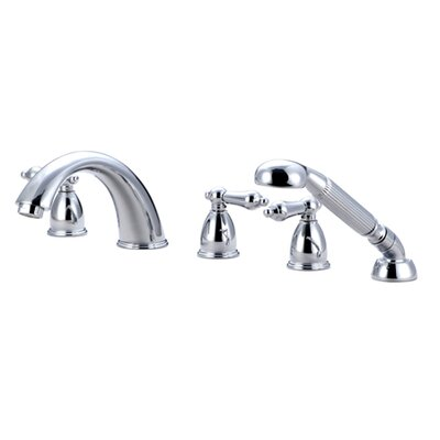 Elements of Design Heritage Roman Tub Faucet and Diverter Hand Shower