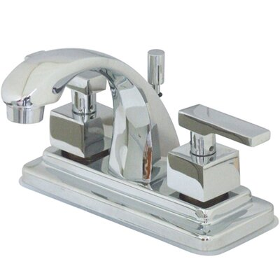 Tampa Centerset Bathroom Faucet with Double Lever Handles Product Photo