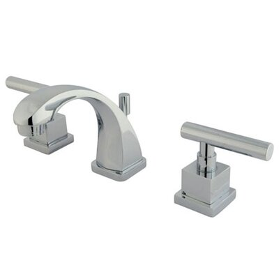 Rio Double Handle Mini-Widespread Bathroom Faucet with Pop-up Product Photo