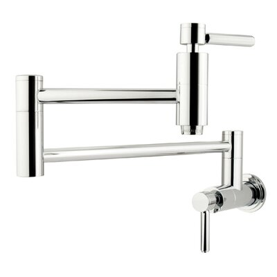 South Beach Wall Mount Pot Filler by Elements of Design