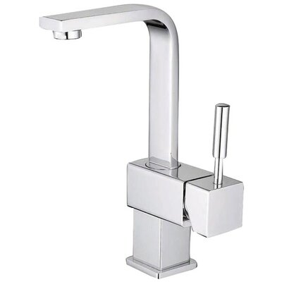 South Beach Single Handle Centerset Bathroom Faucet with Push-Up Pop-Up Drain by Elements of ...
