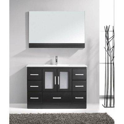 "47"" Single Bathroom Vanity Set with Mirror Product Photo"