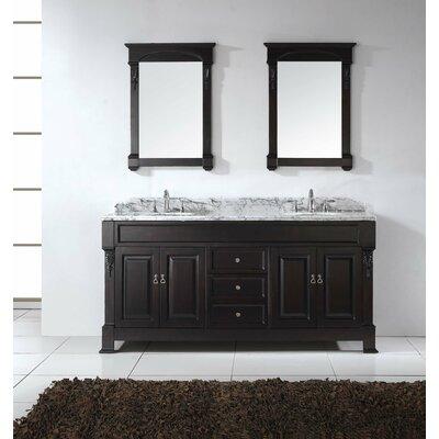 "Huntshire 71"" Double Bathroom Vanity Set with Mirror Product Photo"