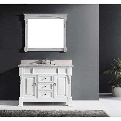"""Virtu Huntshire 47"""" Single Bathroom Vanity Set with Mirror II"""