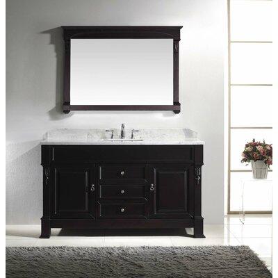 "Huntshire 59"" Single Bathroom Vanity Set with Mirror Product Photo"