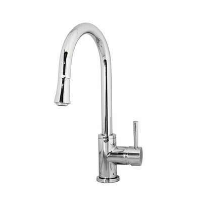 Sedna Single Handle Single Hole Kitchen Faucet with Pull-Down Spray Product Photo