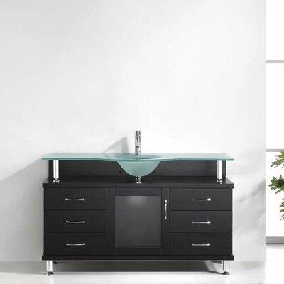 "Vincente 55"" Single Bathroom Vanity Set Product Photo"