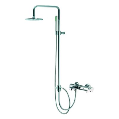 Fima by Nameeks Matrix Wall Mount Diveter Tub and Shower Faucet with Hand Shower