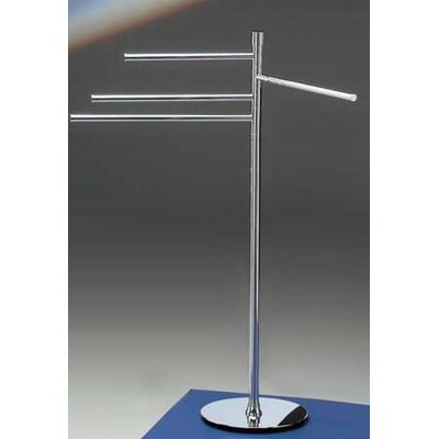 Windisch by Nameeks Accessories Free Standing 4-Arm Towel Stand