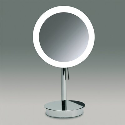 Windisch by Nameeks Free Standing 3x Magnifying LED Mirror with Switch