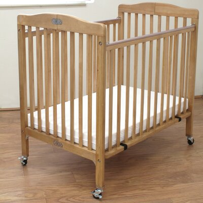 Baby Convertible Crib with Mattress by L.A. Baby