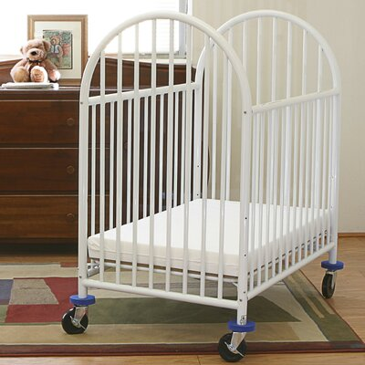 Deluxe Convertible Crib with Mattress by L.A. Baby