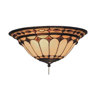 Landmark Lighting Diamond Ring 2 Light Fan Kit / Ceiling Mount