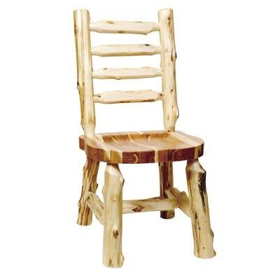 Fireside Lodge Traditional Cedar Log Side Chair