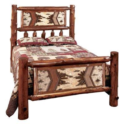 Fireside Lodge Adirondack Slat Panel Bed