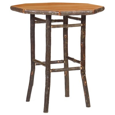 Hickory Pub Table by Fireside Lodge