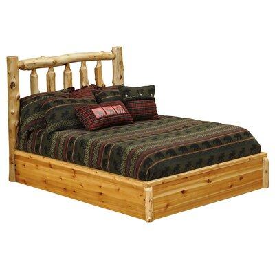Cedar Platform Bed by Fireside Lodge