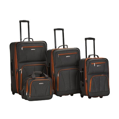 4 Piece Luggage Set by Rockland