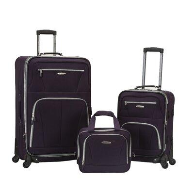 Pasadena 3 Piece Luggage Set by Rockland