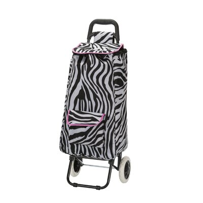 Santorini Rolling Shopping Tote by Rockland