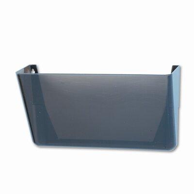 Rubbermaid Stak-A-File Single Wall Pocket, Letter, Smoke