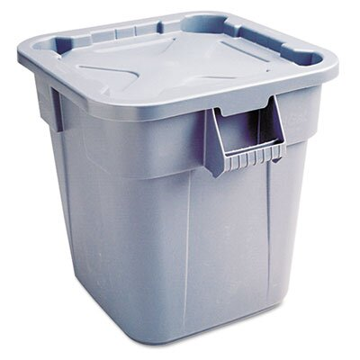 """Rubbermaid Commercial Square Brute Lid, 24"""" Wide"""