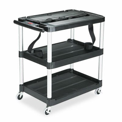 Rubbermaid Rubbermaid® Media Master™ 3-Shelf Audio-Visual Commercial AV Cart